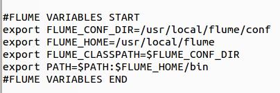Flume Variables