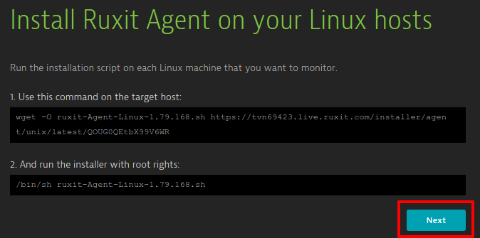 Install Ruxit Agent on your Linux hosts   tvn69423   Ruxit