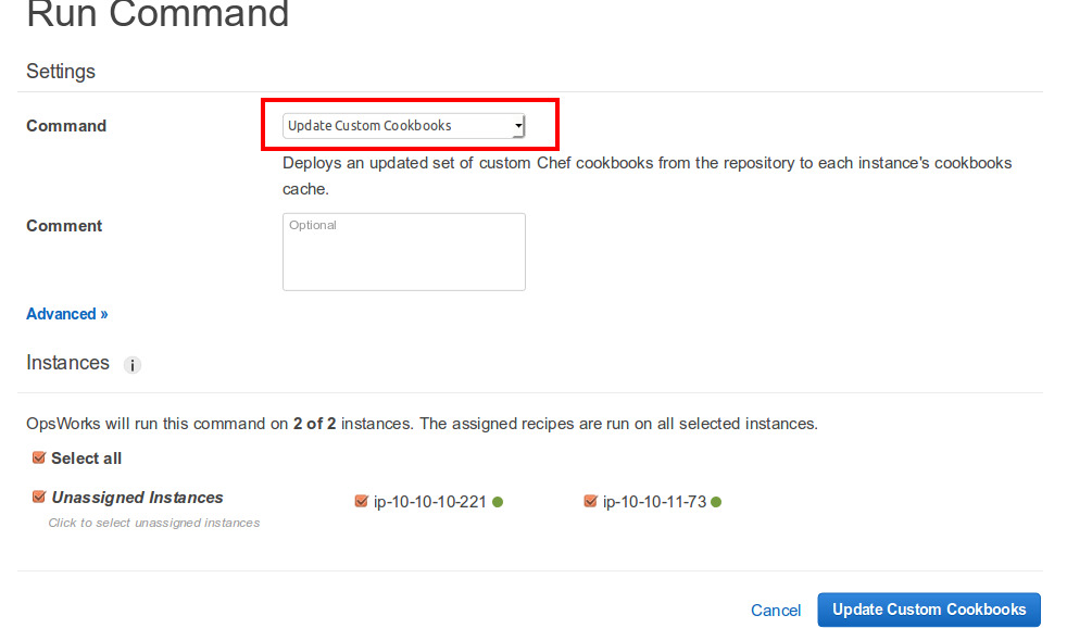 Run command - AAP-Stack – AWS OpsWorks 2015-10-15 17-52-32