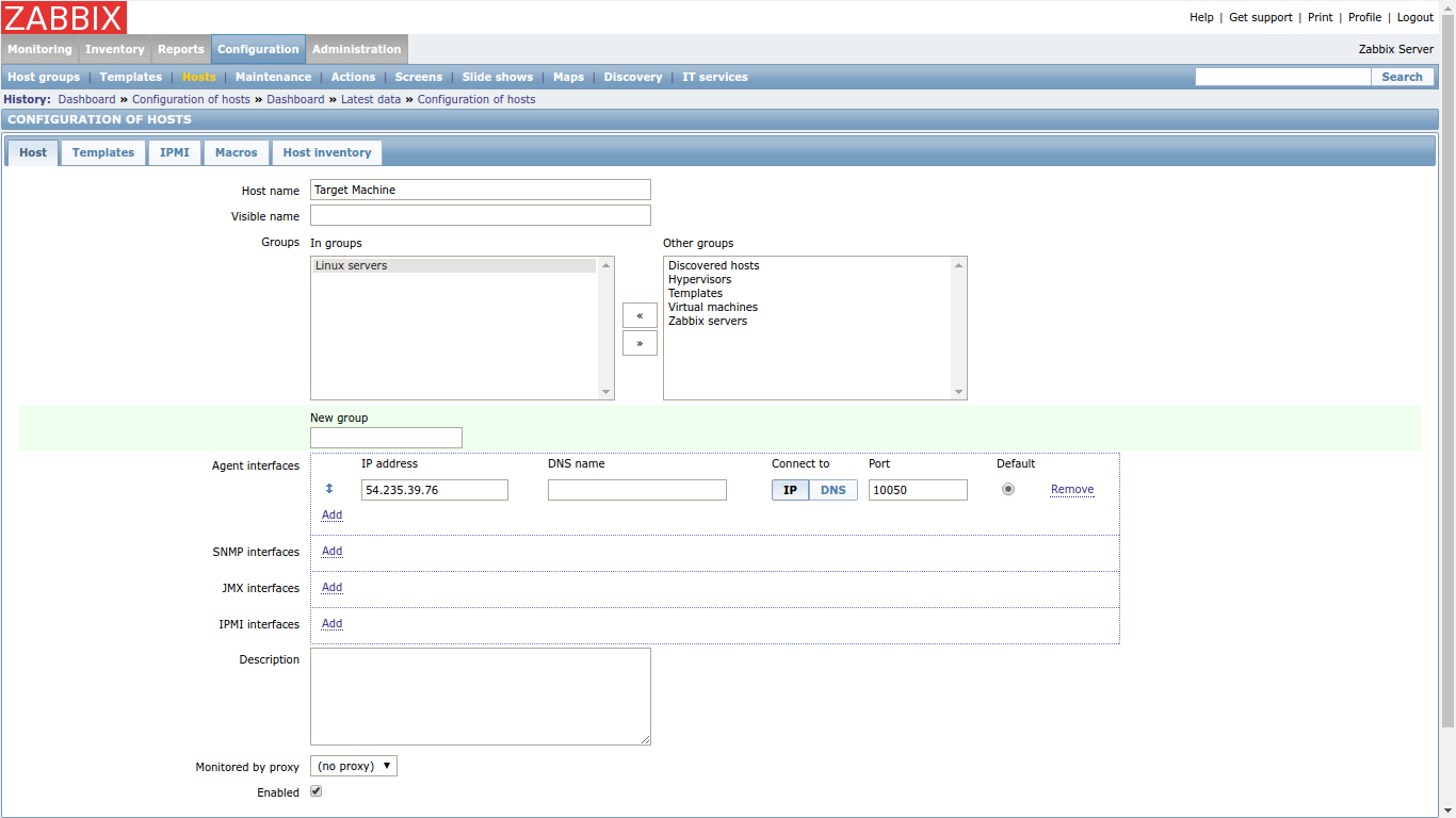 Getting Started With Zabbix To The New Blog