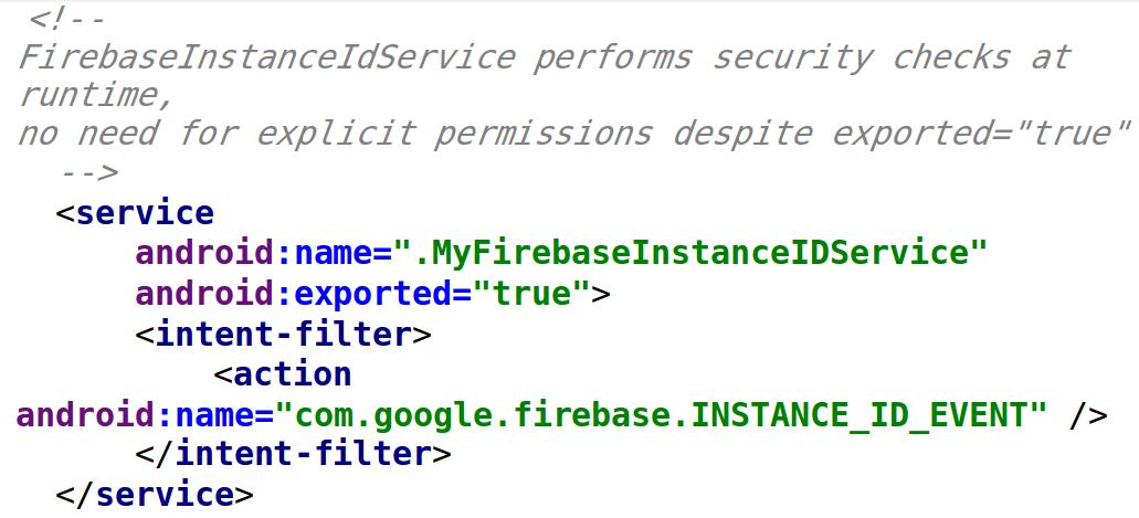 Firebase 6