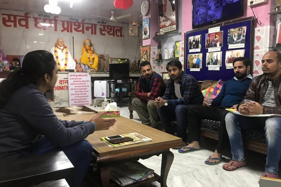 TO THE NEW visit Guru Vishram Vridh Ashram