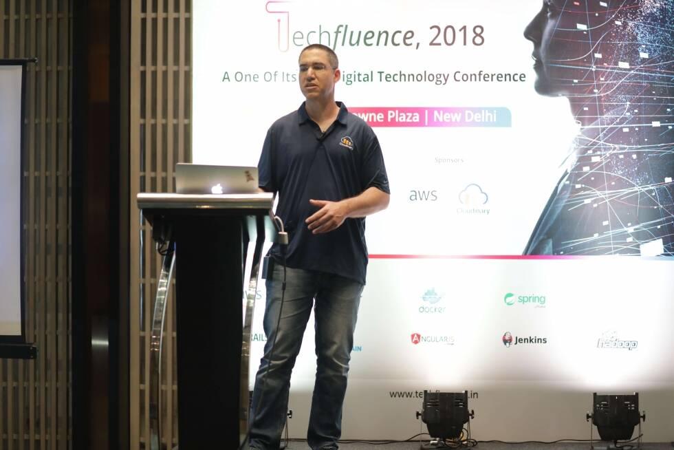 Hadar Bejerano from Cloudinary at TechFluence, 2018